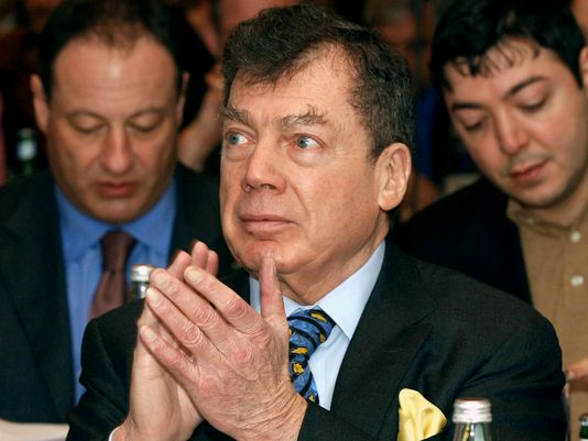 Edgar Bronfman made his fortune with his family's Seagram's liquor empire