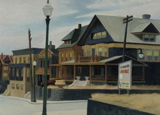 Edward Hopper's painting East Wind Over Weehawken has sold for $40 million