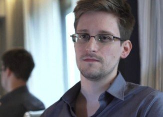 Edward Snowden was interviewed in Russia, where he was granted temporary asylum