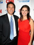 Erin Burnett and husband David Rubulotta have welcomed a baby boy
