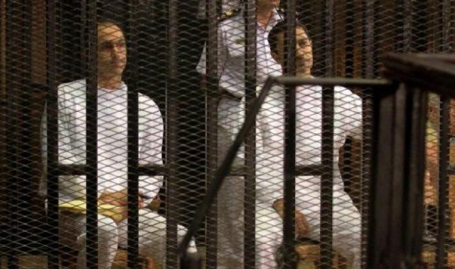 Hosni Mubarak's sons Gamal and Alaa have been acquitted of charges of embezzlement 640x378 photo