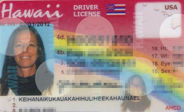 Janice Lokelani Keihanaikukauakahihuliheekahaunael finally got her ID