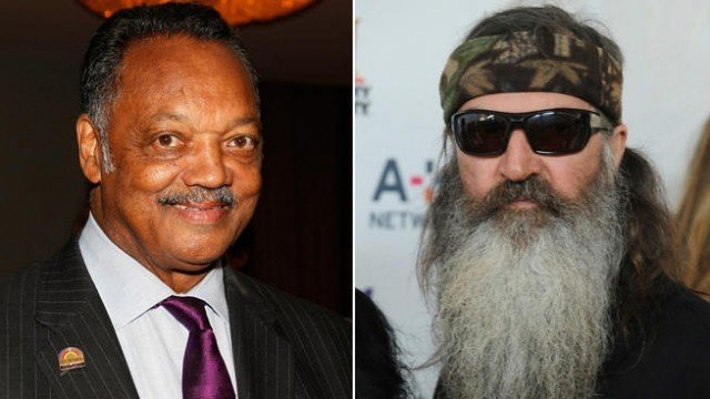 Jesse Jackson Sr. has jumped into the controversy surrounding anti gay comments made by Duck Dynasty's Phil Robertson 640x360 photo