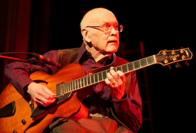 Jim Hall was one of the leading jazz guitarists of the modern era photo