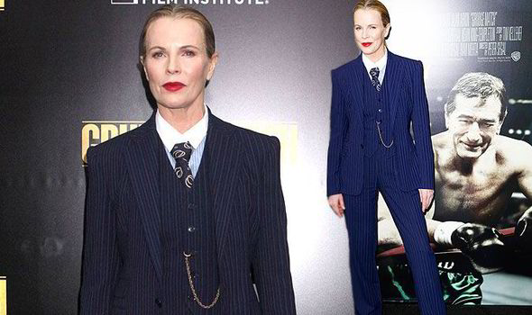 Kim Basinger looked beautiful at the world premiere of Grudge Match at the Ziegfeld Theater in New York City