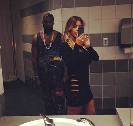 Kim Kardashian was dressed to impress at Kanye West's concert in Miami