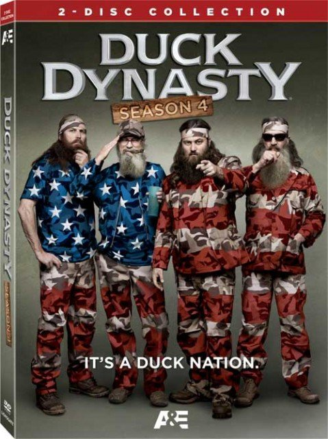 Lionsgate Home Entertainment is putting together Blu-ray and DVD releases for Duck Dynasty: Season 4