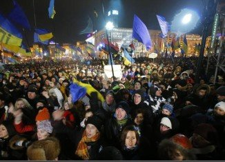 Mass protests in Kiev were sparked by the government's decision not to sign an association deal with the EU