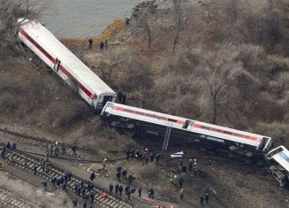 Metro-North train that crashed in New York City was going 82 mph in a 30 mph zone when it ran off the rails