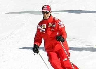 Michael Schumacher's family is at his bedside as he fights for life following a skiing accident in the French Alps