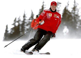 Michael Schumacher has suffered a head injury while skiing in Meribel,