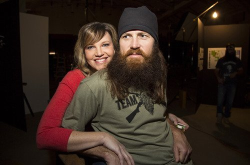 Missy Robertson revealed she didn't immediately fall in love with Jase Robertson when they first met 23 years ago in high school