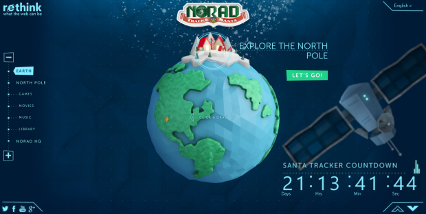 NORAD Tracks Santa started in 1955