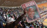 Nelson Mandela's memorial service in Johannesburg was attended by 52 presidents and 16 prime ministers