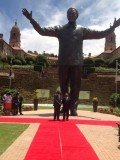 Nelson Mandela statue has been erected at the Union Buildings in Pretoria