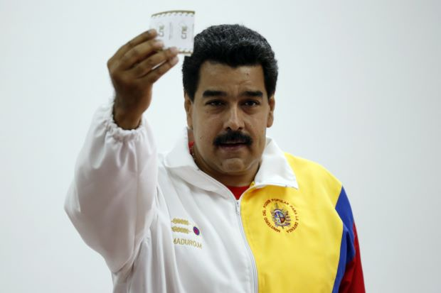 Nicolas Maduro's United Socialist Party has won the greatest share of the vote in Venezuela's local elections