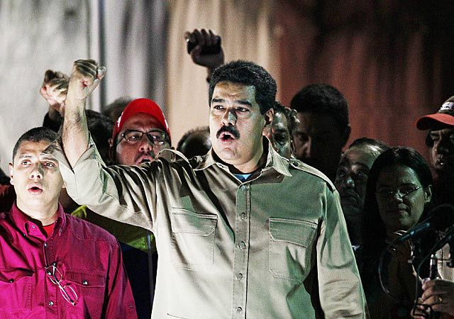 "Nicolas Maduro has said he has proof that massive power cut in Caracas and other cities was caused by ""right-wing"" saboteurs"