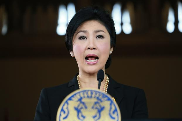 PM Yingluck Shinawatra has rejected protesters' demands that she step down, amid ongoing clashes in Bangkok