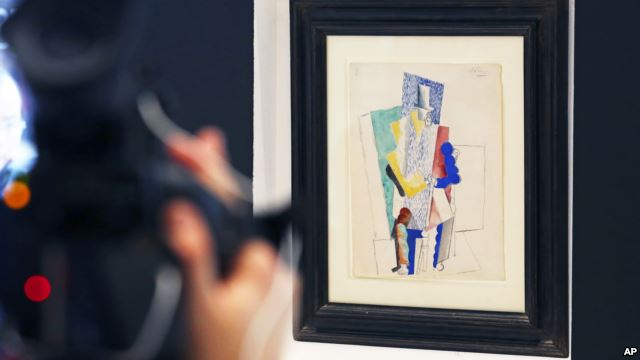 Pablo Picasso's L'Homme au Gibus had been bought by a charity working to save the ancient Lebanese city of Tyre