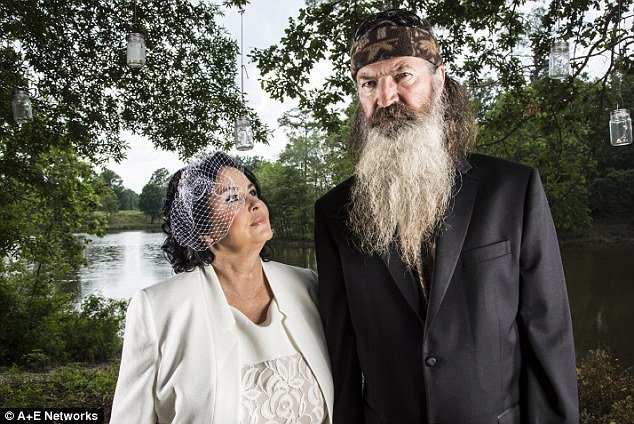 Phil Robertson married Miss Kay when she was just 16-year-old