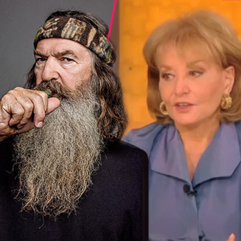 Duck Dynasty 's Phil Robertson reportedly snubbed Barbara Walters in