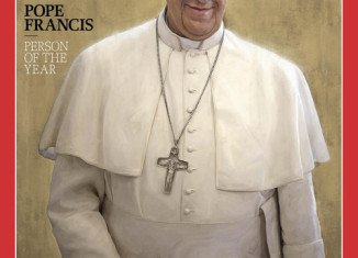 Pope Francis has been named Person of the Year 2013 by Time magazine after only nine months in office