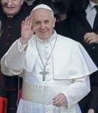 Pope Francis has been named the best dressed man of 2013 by Esquire magazine