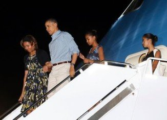 President Barack Obama and his family opened their annual Hawaii vacation