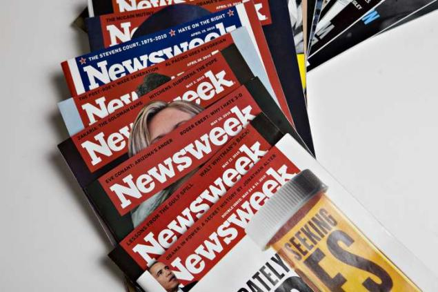 Print issues of Newsweek magazine will be available at the newsstands starting next year photo