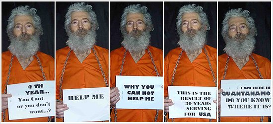 Robert Levinson went missing during a business trip to the Iranian island of Kish in March 2007 photo