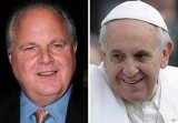 Rush Limbaugh railed against Pope Francis for written comments made on the world economy