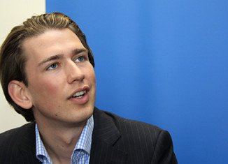 Sebastian Kurz has become Europe's youngest foreign minister, after Austria swore in its new coalition government