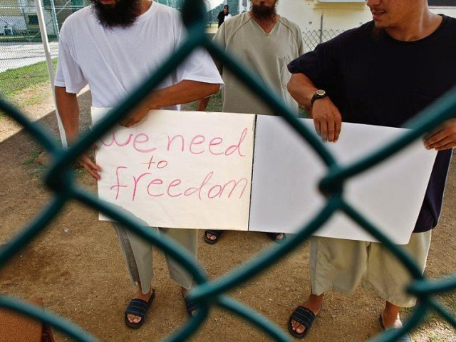 Slovakia has accepted three ethnic Uighur Chinese prisoners from Guantanamo Bay detention camp 640x479 photo