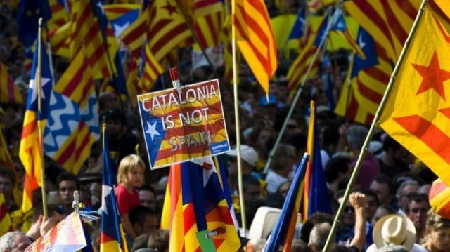 Spain's government has vowed to block plans by parties in Catalonia to hold a referendum on independence on November 9 2014 640x359 photo