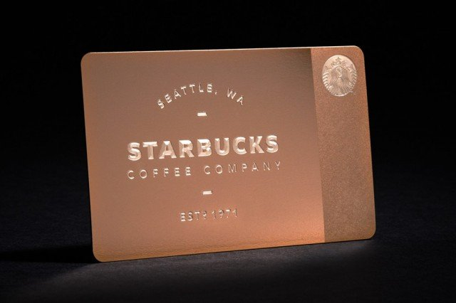 Starbucks brings back the $450 limited-edition gift card in an even more limited capacity
