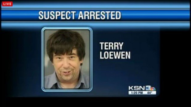 erry Lee Loewen has been arrested in Kansas and accused of planning to detonate a suicide car bomb at Wichita airport
