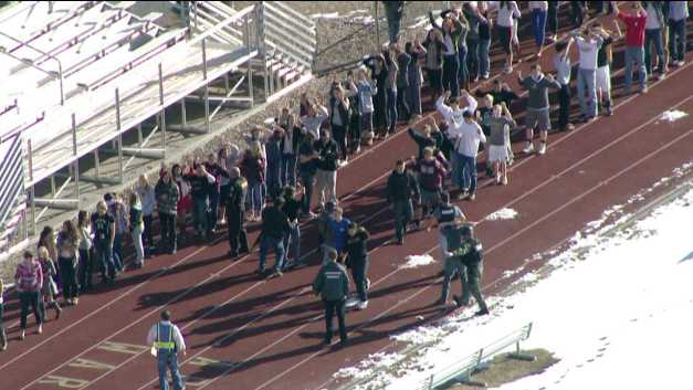 The Arapahoe High School shooting occurred the day before the anniversary of the shooting in Newtown