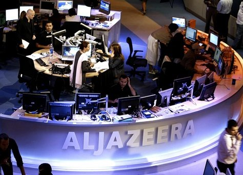 Three journalists working for the Al-Jazeera broadcaster in Cairo have been arrested by Egyptian police