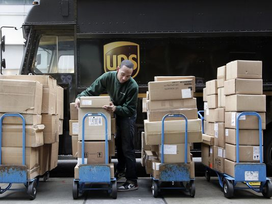 UPS acknowledged getting swamped by the seasonal cheer and failing to deliver thousands of orders in time for Christmas