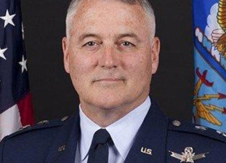 "US Air Force Major-General Michael Carey was sacked for conduct ""unbecoming of a gentleman"" during a business trip to Russia"