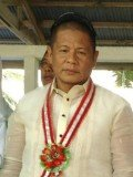Ukol Talumpa, mayor of the southern town Labangan, and three others were hit while waiting outside the airport terminal