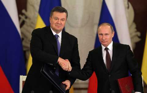 Ukrainian opposition leaders have demanded to know what President Viktor Yanukovych has offered Russia in return for a major economic lifeline photo