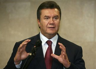 Viktor Yanukovych has said he strongly opposes Western politicians intervening in the crisis in Ukraine