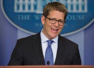 White House spokesman Jay Carney has rejected the idea of an amnesty for fugitive Edward Snowden