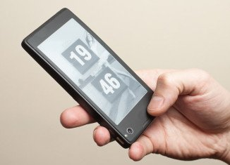 YotaPhone has one LCD display and a second e-ink screen which lets users see the information they want without having to wake up the phone