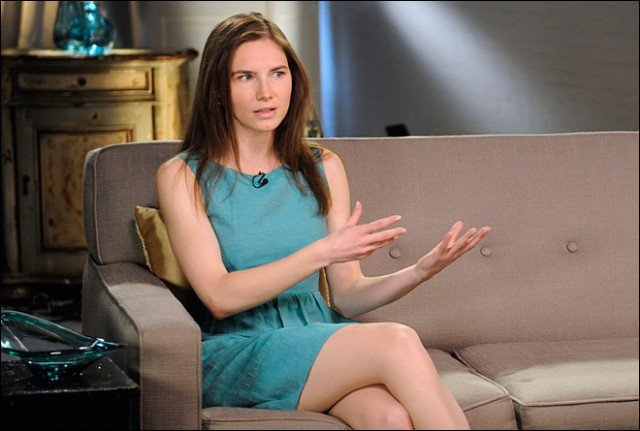 "Amanda Knox is prepared to become ""a fugitive"" from justice if an Italian court upholds her original conviction"