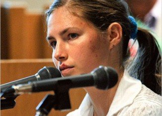 "Amanda Knox said today that she is ""frightened and saddened"" after being re-convicted in the murder of her roommate Meredith Kercher"