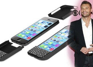 BlackBerry has filed a copyright infringement lawsuit against the company co-founded by Ryan Seacrest that makes a keyboard case for the iPhone