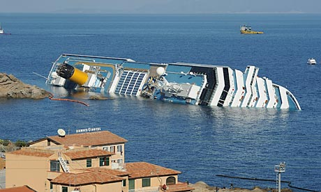 Costa Concordia cruise ship wreck will be removed from the coast of north west Italy in June photo