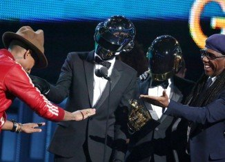Daft Punk has taken top honors at this year's Grammy Awards, winning five prizes including album and record of the year